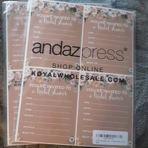 Other - Bridal shower invite cards